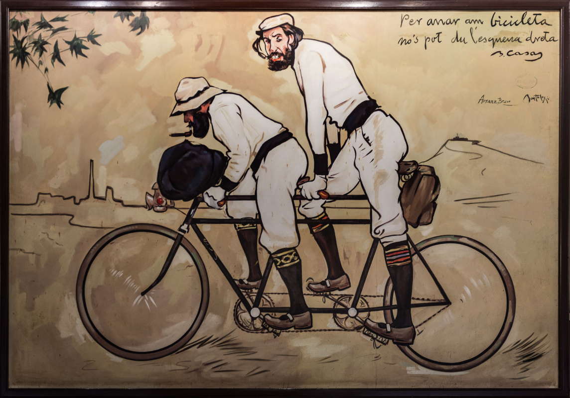 Ramon Casas i Carbó. Ramon Casas and Per Romeu in tandem