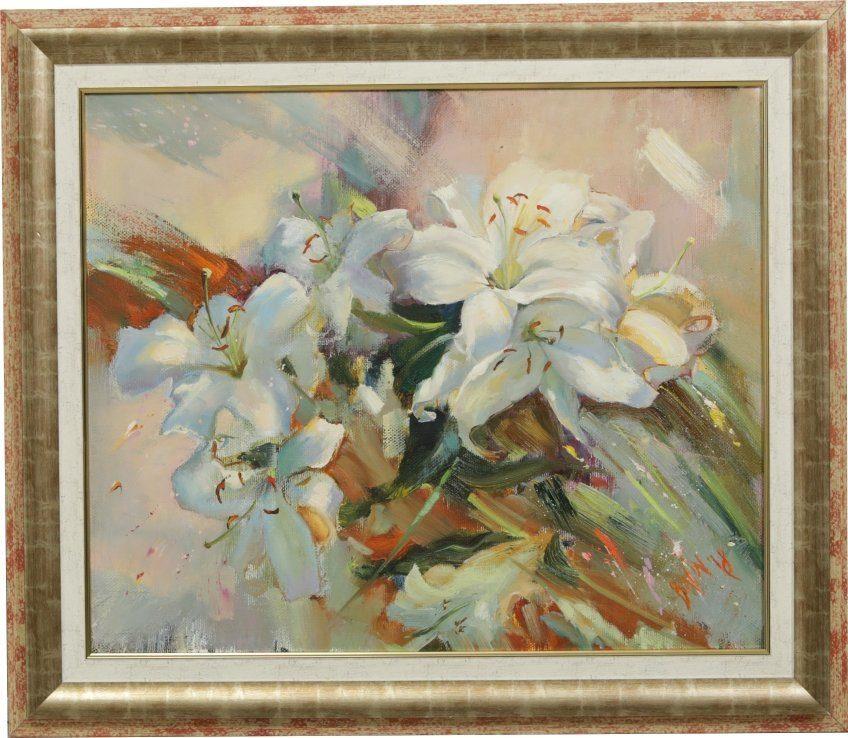 Marina Vladimirovna Berezina. White lilies