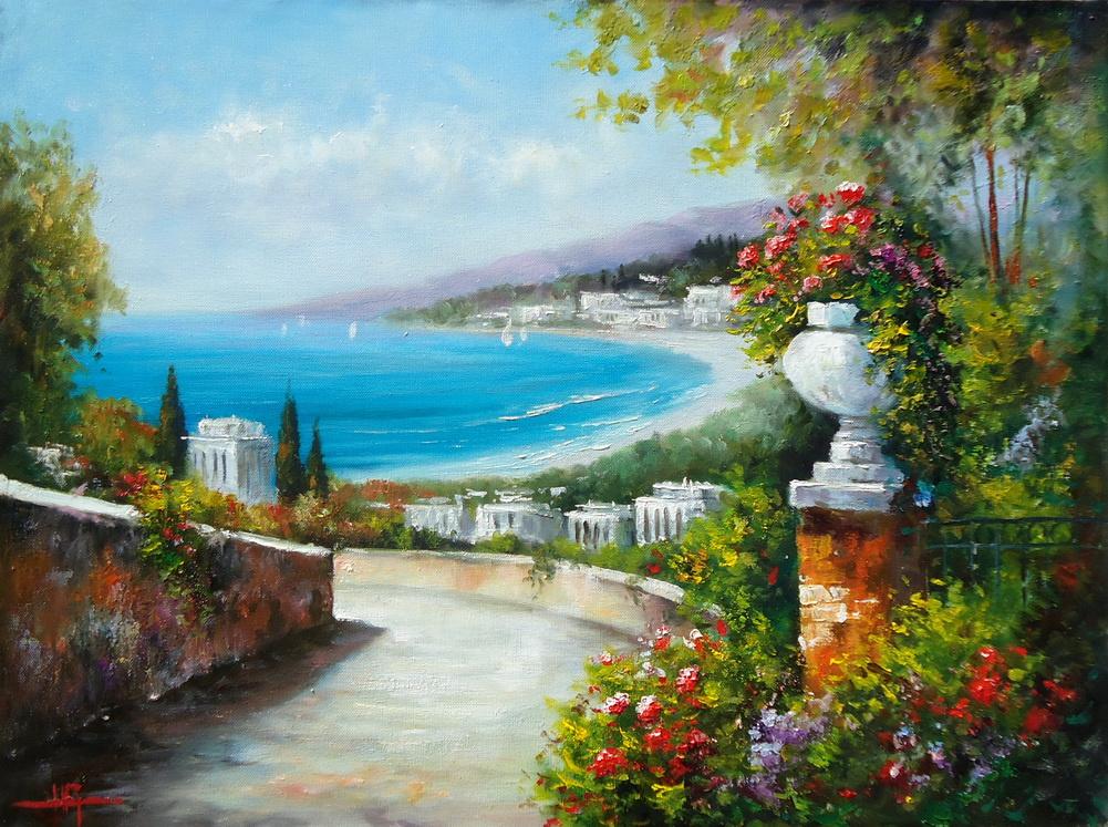 Natalia Grigorieva. The road to the sea