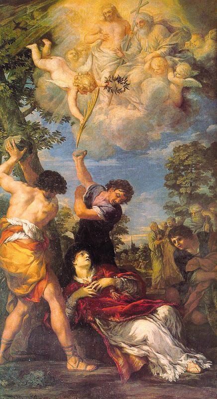 Pietro Da Cortona. Cross
