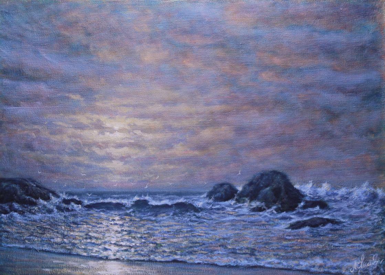 Valery Levchenko. No. 302 Reflected Sunset