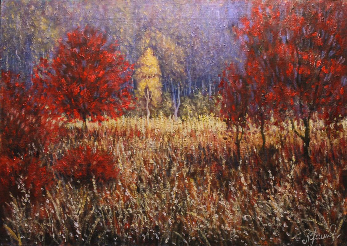 Valery Levchenko. No. 333 Birch in the sun