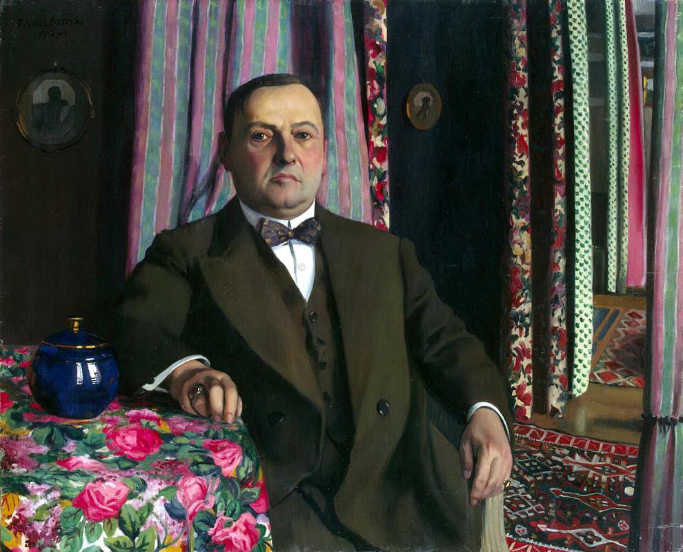 Felix Vallotton. Portrait Of Gazena