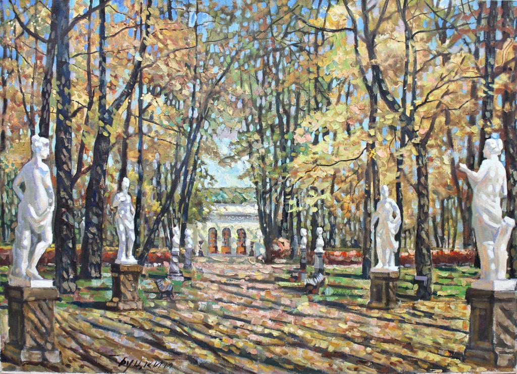 Pavel Butsky. Autumn