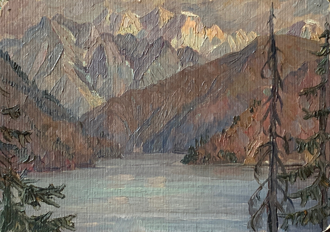 Oleg Alekseevich Dmitriev. Lake Sary-Chelek