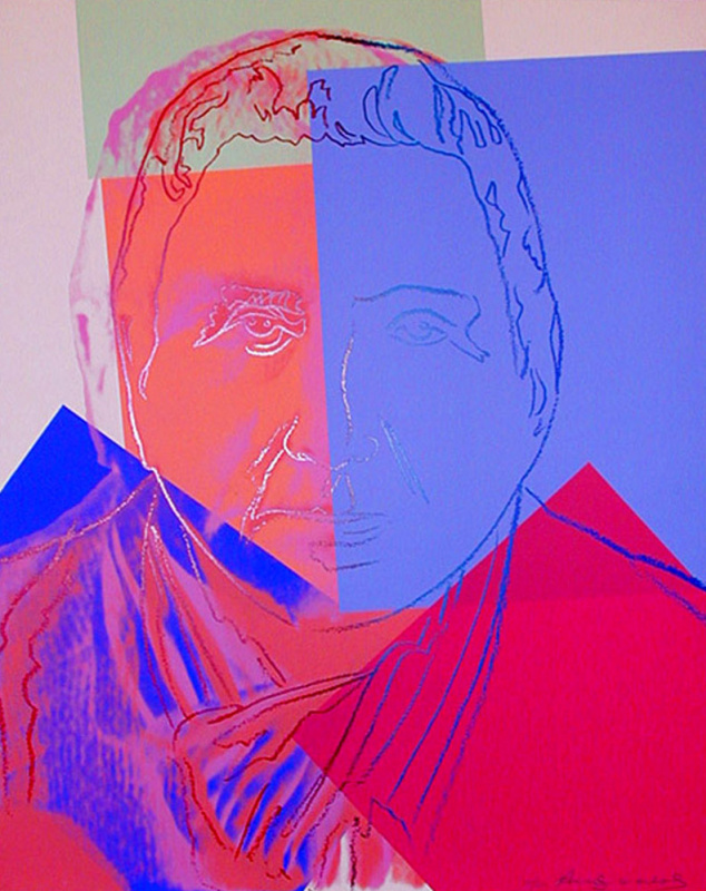 Andy Warhol. Portrait Of Gertrude Stein