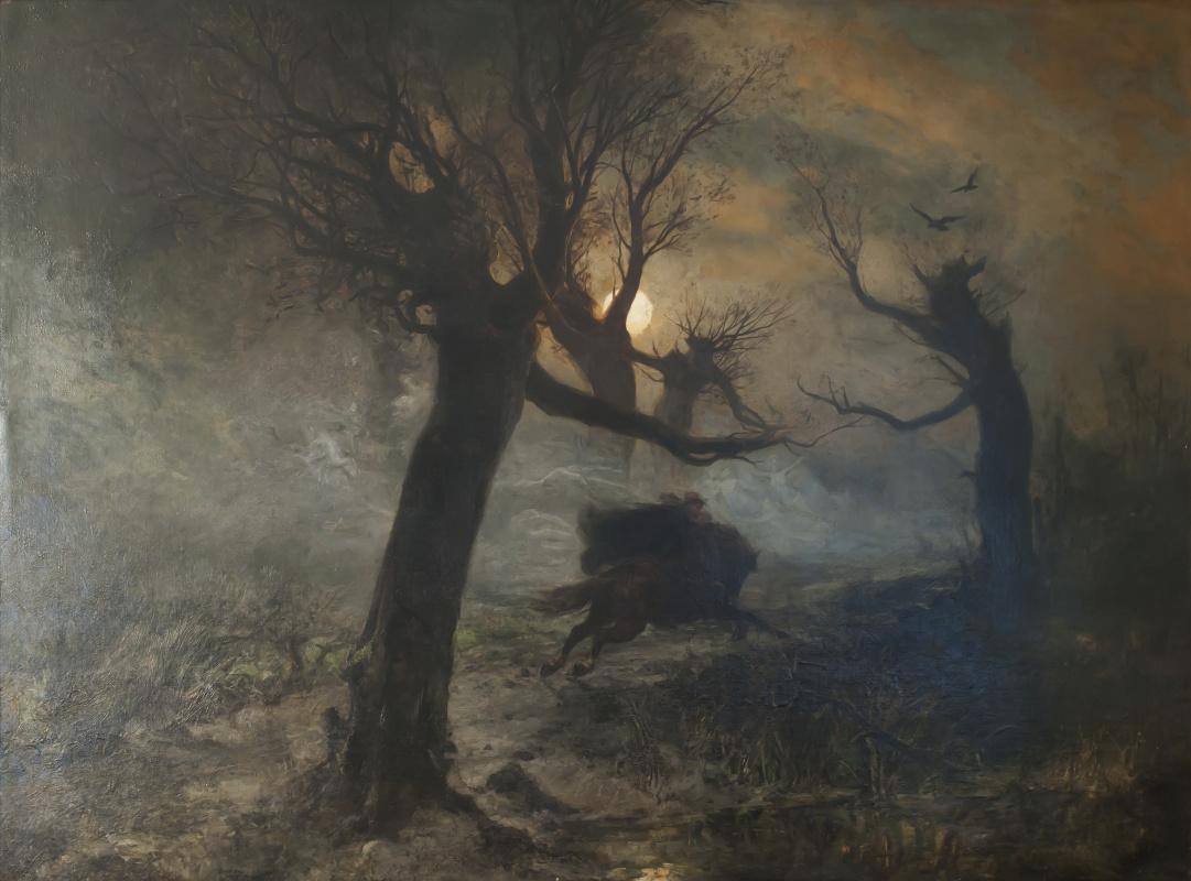 Julius Klever. Forest king