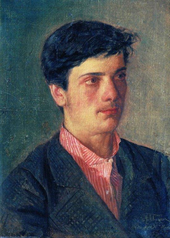 Abel (Adolf) Ilyich Levitan. Portrait of Isaac Levitan
