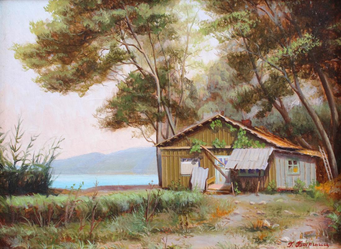 Gennady Shotovich Bartsits. House by the sea