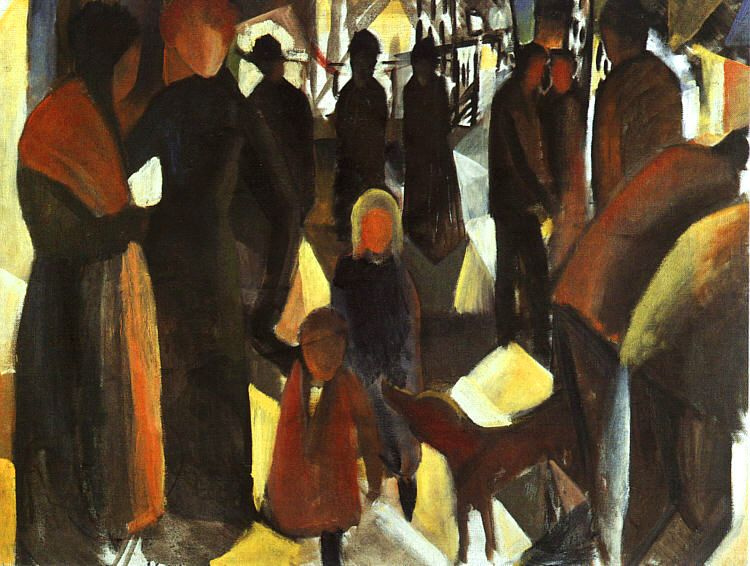 August Macke. Goodbye