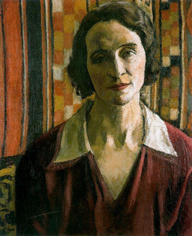 Пьер-Альбер Марке. Женщина в красном платье