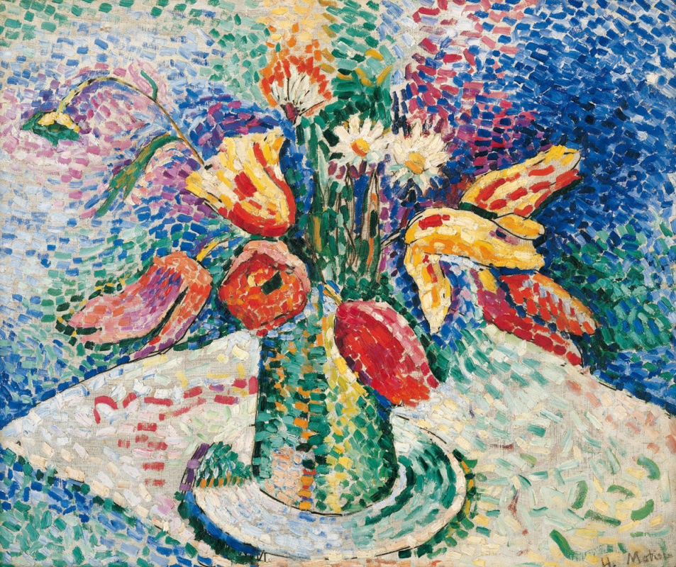 Henri Matisse. Parrot tulips