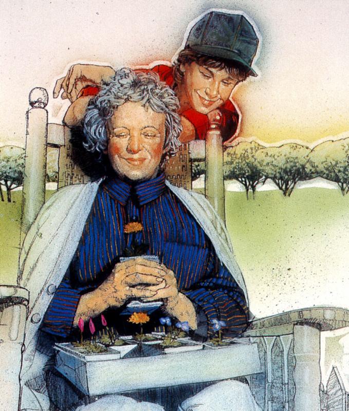 Джеффри Терресон. Счастье бабушки