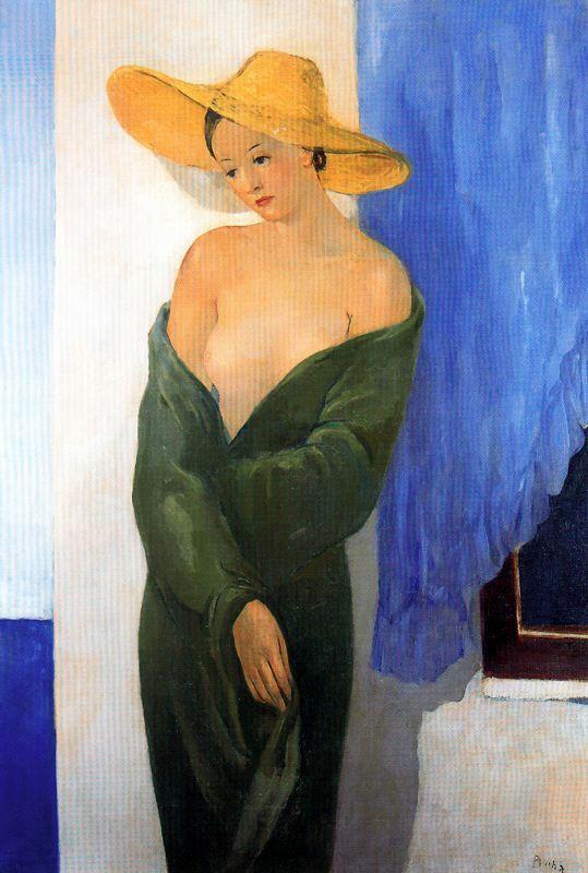 Пер Пруна. Соломенная шляпа