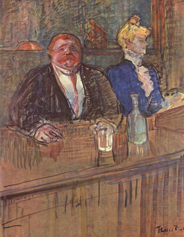 Henri de Toulouse-Lautrec. Bar