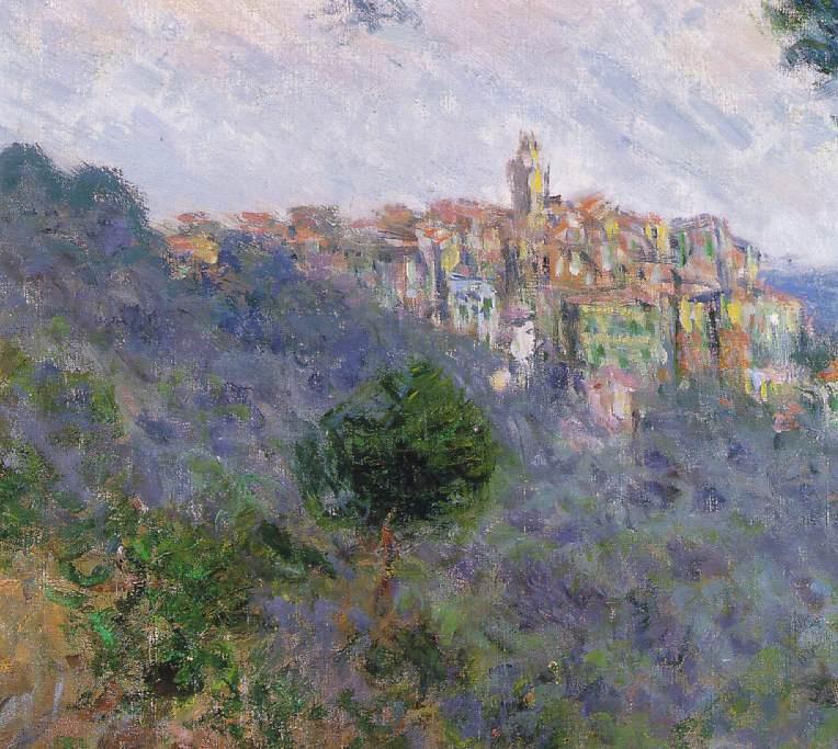 Claude Monet. Bordighera, Italy (detail)