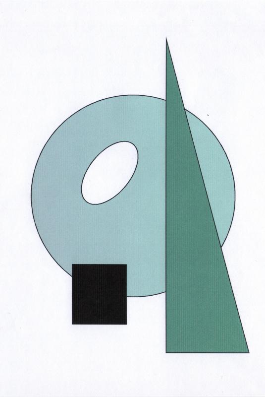 Полина. Композиция из геометрических фигур