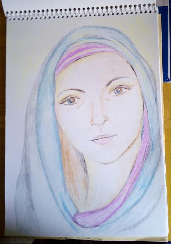 Natalia Anatolyevna Leisure. Portrait of a girl.