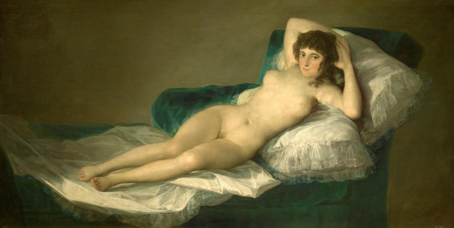 Francisco Goya. Nude Maha