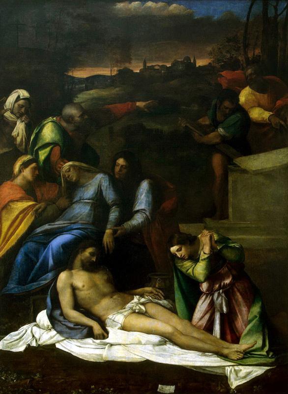 Себастьяно Лучиани. Оплакивание Христа