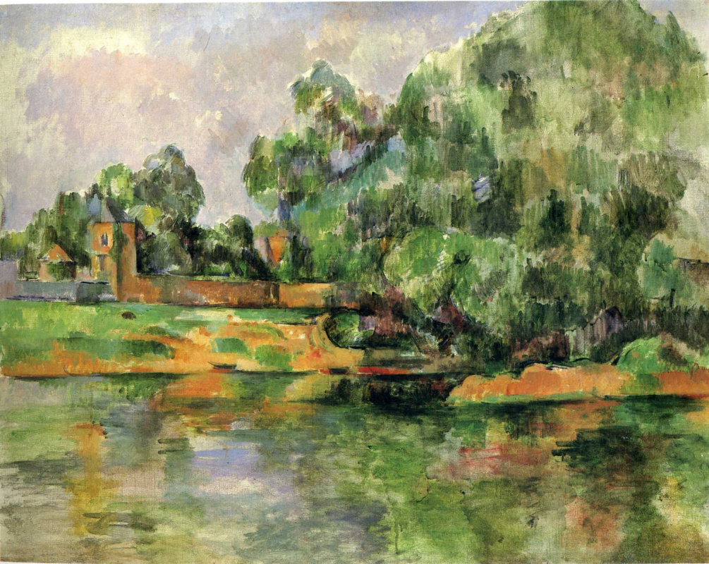 Paul Cezanne. River
