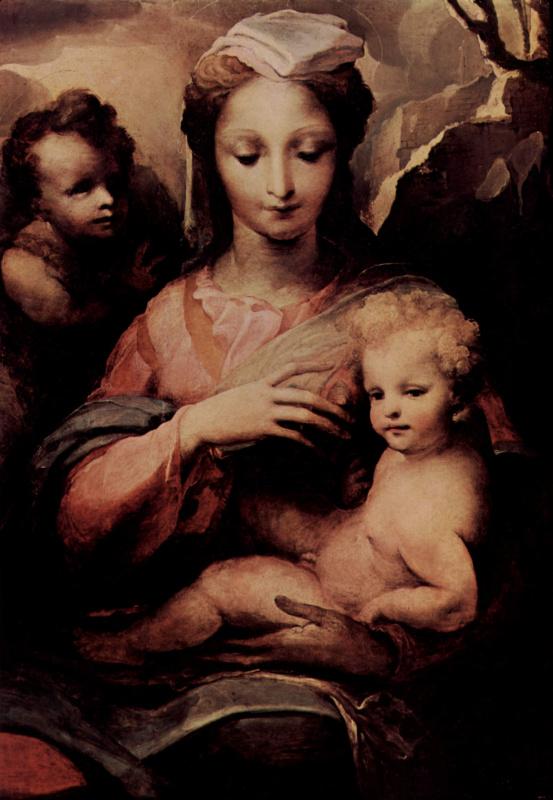 Мадонна и Иоанн Креститель