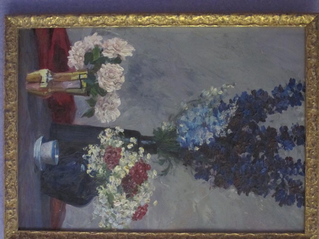 Efim Isaakovich Deshalyt. Three bouquets