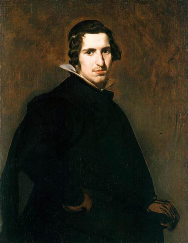 Diego Velazquez. Portrait of a young Spaniard