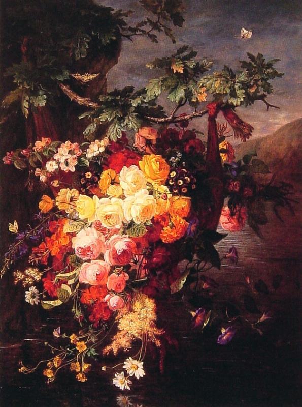 Жан Пьер Бариед. Цветы и бабочки