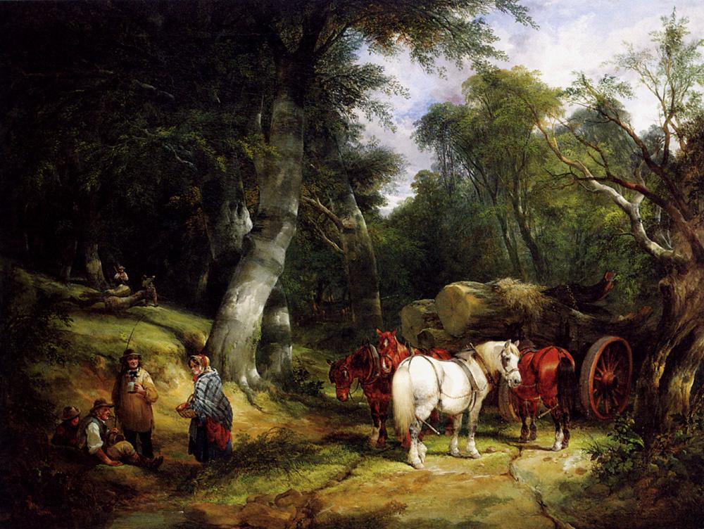 Уильям Шайер. В лесу