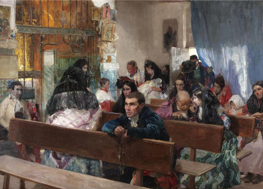 Хоакин Соролья (Соройя). Крестины