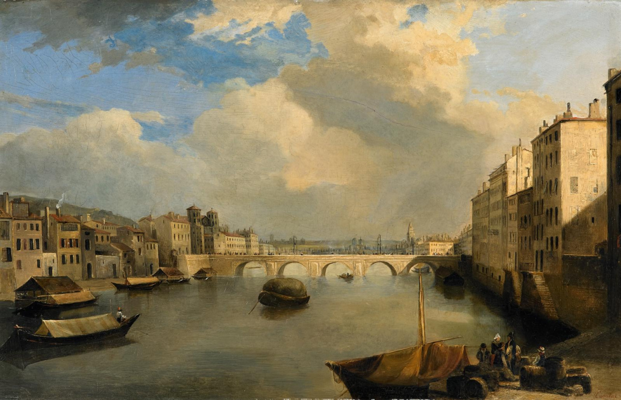 Philip Tanner. Lyon. Sona and the bridge of Tilsit