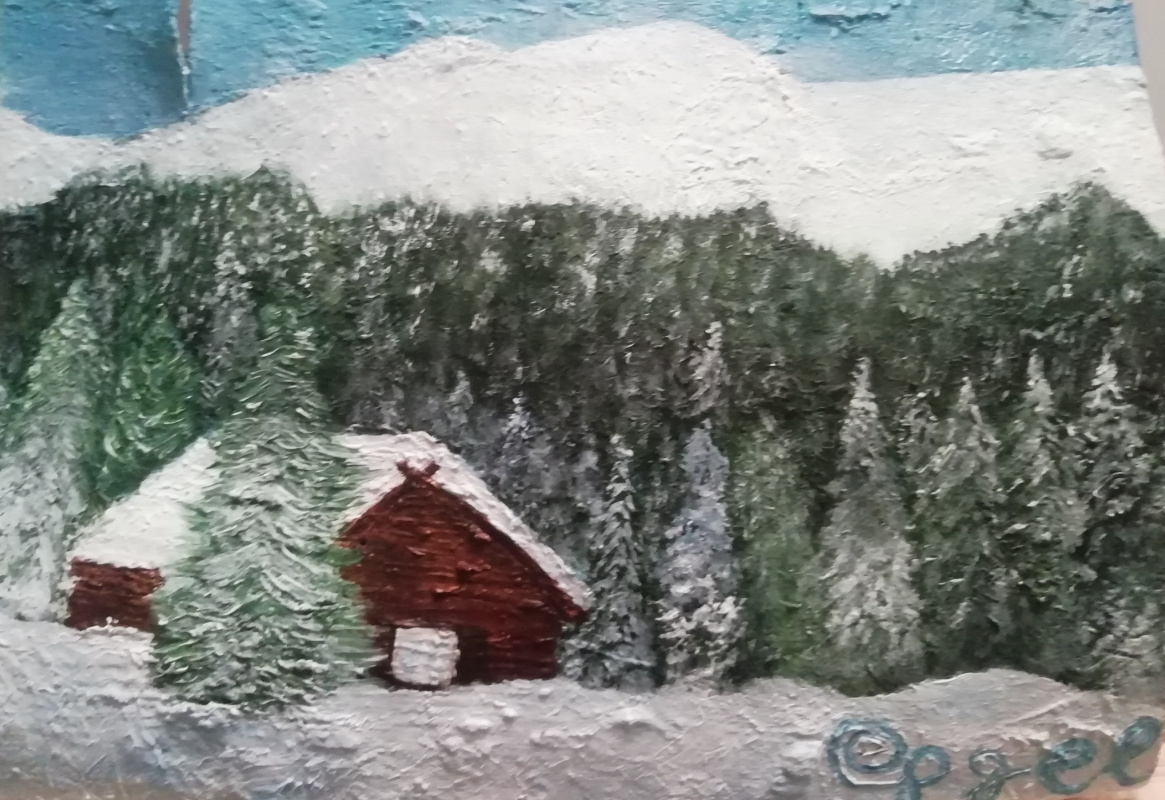 Jack Pigel ee. House in the mountains (1) (06201913)