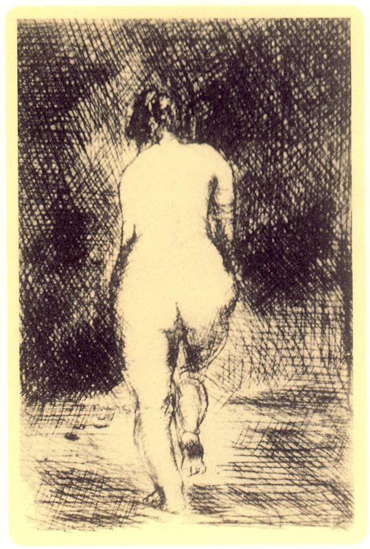 Луис Аскарат. Обнаженная женщина