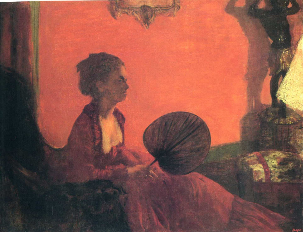 Эдгар Дега. Мадам Камю