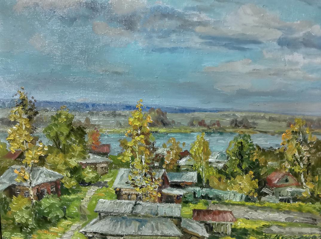 Victor Vladimirovich Kuryanov. Paints autumn