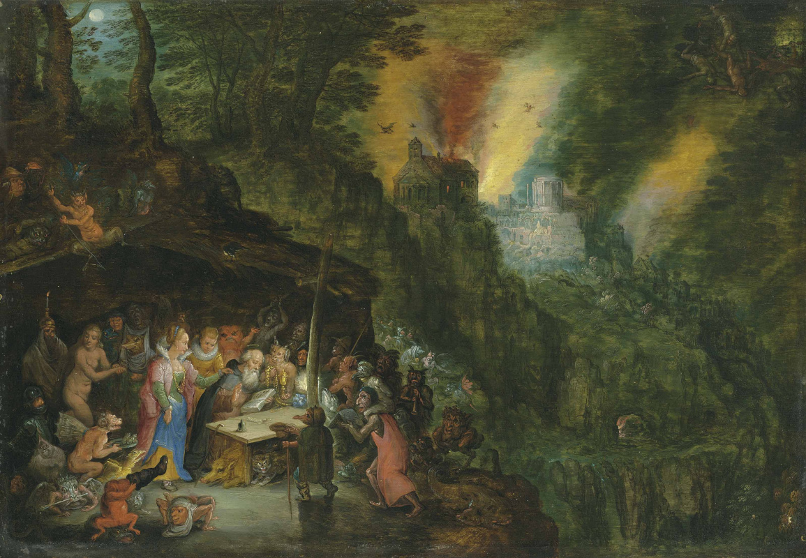 Jan Brueghel the Younger. The Temptation of St. Anthony