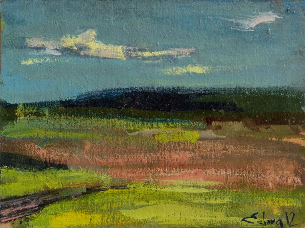 Tanika Yezhova. Green field