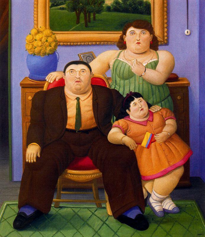 Фернандо Ботеро. Семья