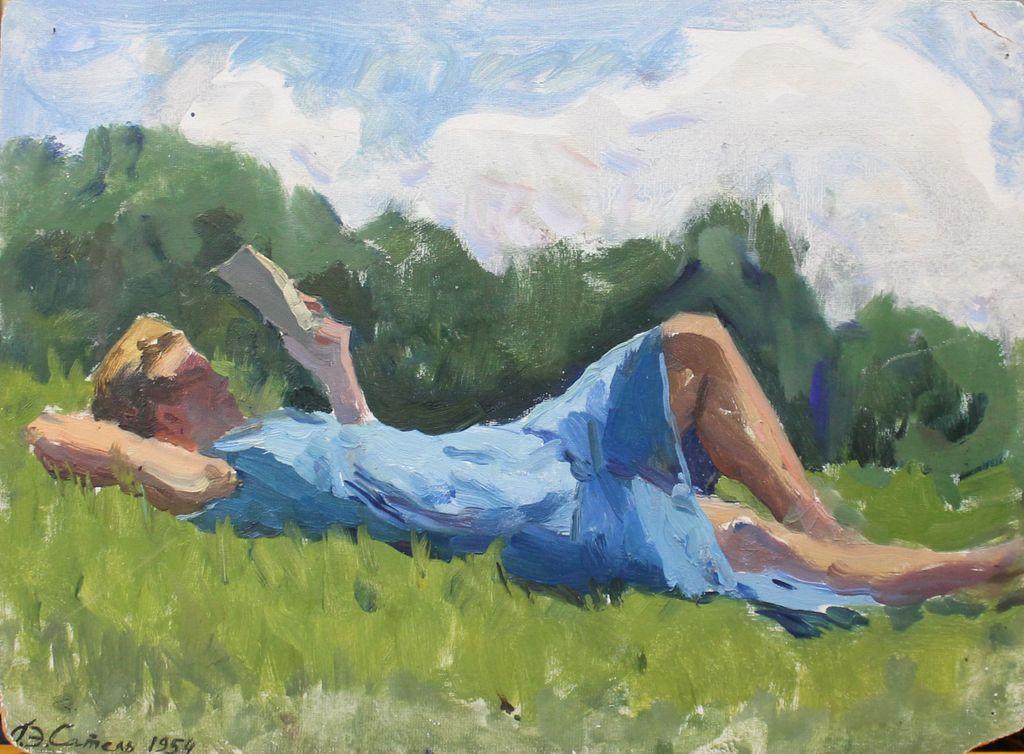 George Eduardovich Satel. Summer