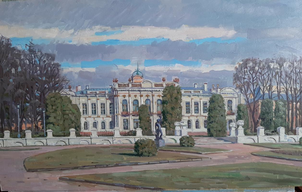 Eugene Alexandrovich Kazantsev. Palace. In Timiryazevsky Park.