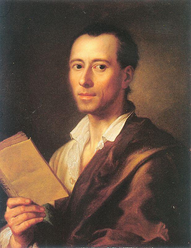 Антон Рафаэль Менгс. Чтение