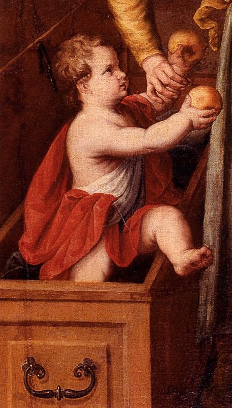 Хуан Санчес Котан. Чудо Св. Франциска. Фрагмент