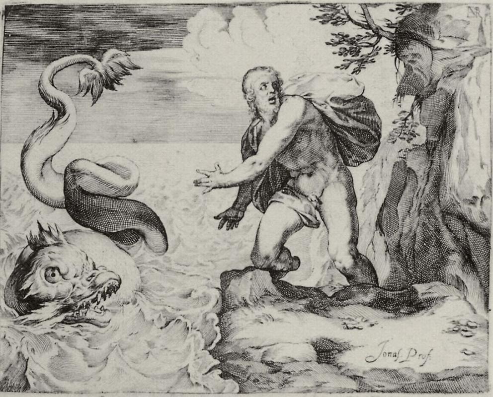 Лука Чамберлано. Иона и кит