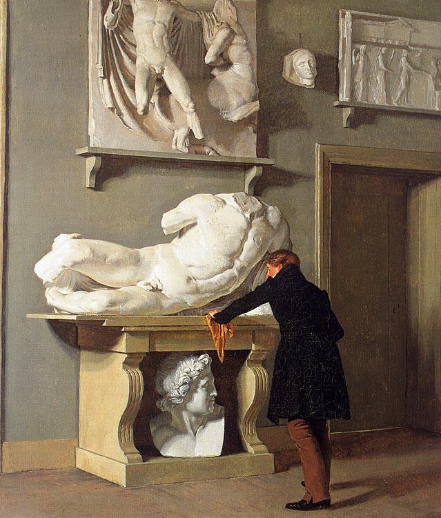Кристен Кобк. Голова статуи