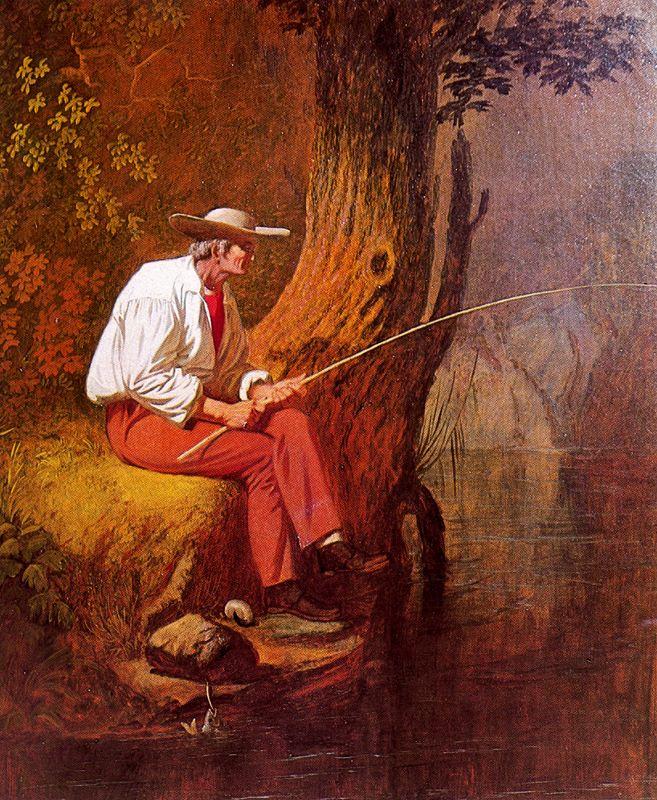 George Caleb Bingham. Fisherman