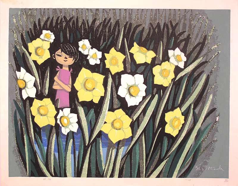Shuzo Ikeda. Yellow flowers