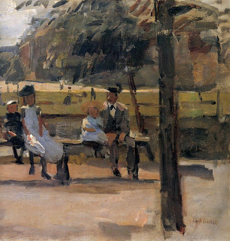 Дети в Оостер-парке