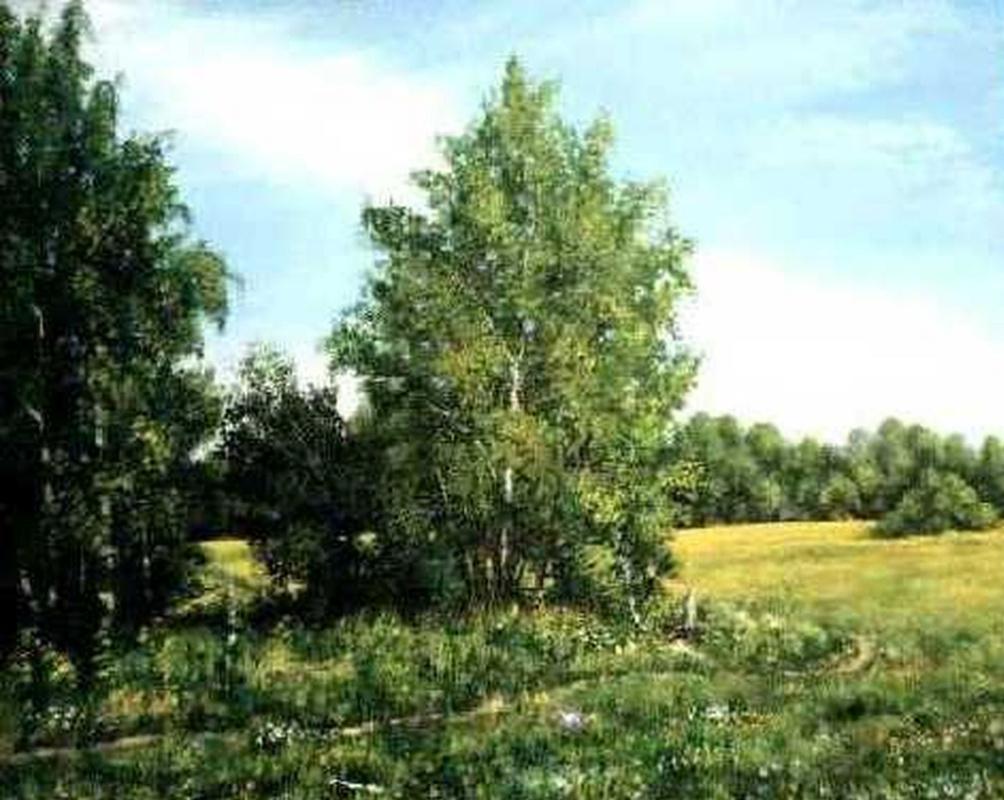 Vladimir Vasilyevich Abaimov. Among the Fields 1999.