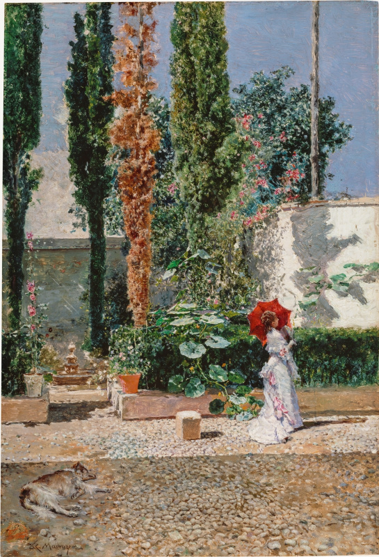 Mariano Fortuni-i-Carbo. The Garden of the Fortuny Residence